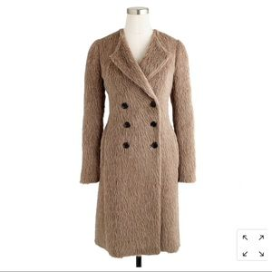 *HP* J. Crew Collection Alpaca Coat